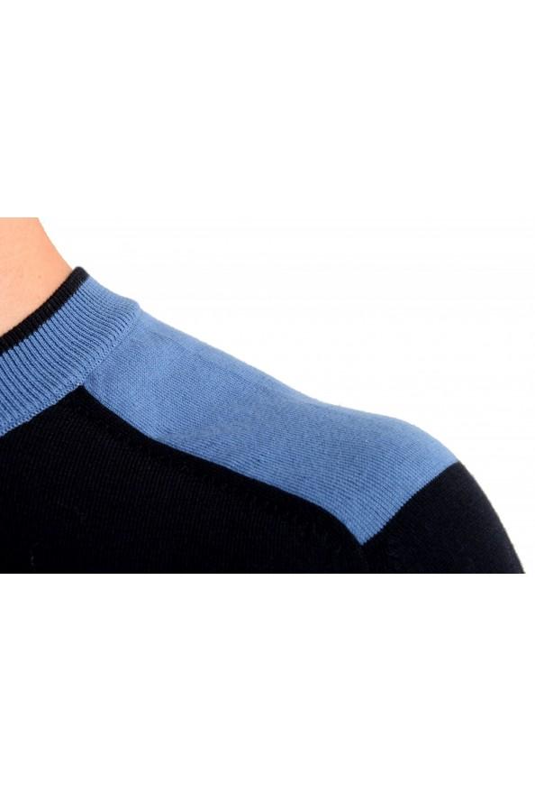 "Hugo Boss ""Pintus"" Men's Blue Crewneck Pullover Sweater: Picture 4"