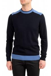 "Hugo Boss ""Pintus"" Men's Blue Crewneck Pullover Sweater"