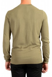 """Hugo Boss """"T-Pirro"""" Men's 100% Silk Olive Green Pullover Sweater: Picture 3"""