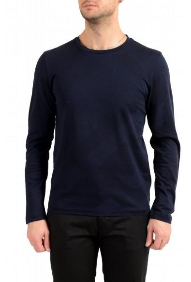 "Hugo Boss Men's ""T-Thias 11"" Slim Fit Crewneck Long Sleeve T-Shirt"