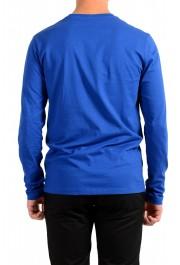 "Hugo Boss Men's ""Tacks"" Royal Blue Crewneck Long Sleeve T-Shirt: Picture 3"