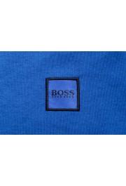 "Hugo Boss Men's ""Tacks"" Royal Blue Crewneck Long Sleeve T-Shirt: Picture 5"