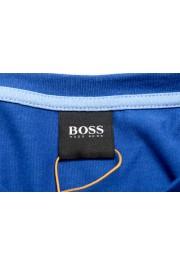 "Hugo Boss Men's ""Tacks"" Royal Blue Crewneck Long Sleeve T-Shirt: Picture 7"