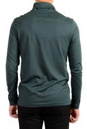 "Hugo Boss ""T-Tustin 06"" Men's Silk Green Turtleneck Pullover Sweater: Picture 3"