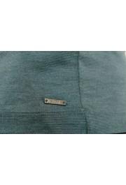 "Hugo Boss ""T-Tustin 06"" Men's Silk Green Turtleneck Pullover Sweater: Picture 5"