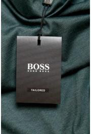 "Hugo Boss ""T-Tustin 06"" Men's Silk Green Turtleneck Pullover Sweater: Picture 6"