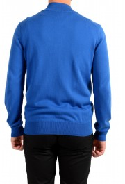 "Hugo Boss ""Palano-L"" Men's Bright Blue Full Zip Cardigan Sweater: Picture 3"