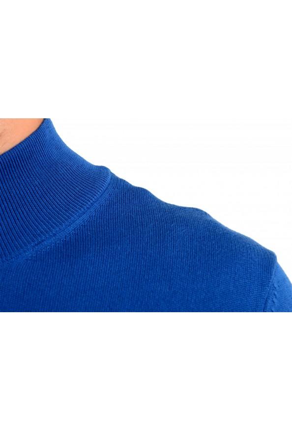 "Hugo Boss ""Palano-L"" Men's Bright Blue Full Zip Cardigan Sweater: Picture 4"