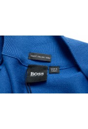 "Hugo Boss ""Palano-L"" Men's Bright Blue Full Zip Cardigan Sweater: Picture 6"