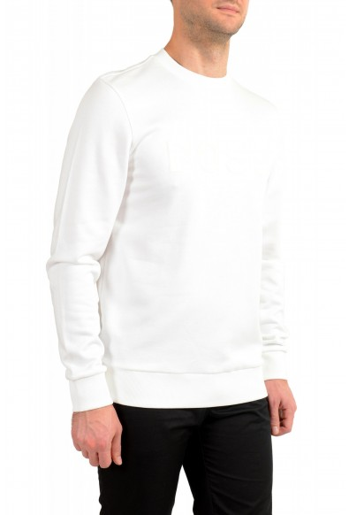 "Hugo Boss ""Stadler 41"" Men's White Crewneck Sweatshirt Sweater: Picture 2"