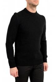 "Hugo Boss ""Dimondo"" Men's Black Wool Crewneck Pullover Sweater: Picture 2"