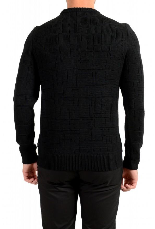 "Hugo Boss ""Dimondo"" Men's Black Wool Crewneck Pullover Sweater: Picture 3"
