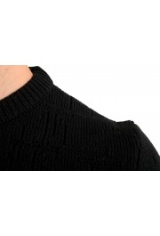 "Hugo Boss ""Dimondo"" Men's Black Wool Crewneck Pullover Sweater: Picture 4"