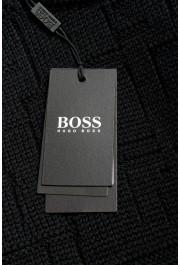 "Hugo Boss ""Dimondo"" Men's Black Wool Crewneck Pullover Sweater: Picture 5"