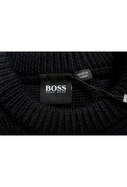 "Hugo Boss ""Dimondo"" Men's Black Wool Crewneck Pullover Sweater: Picture 6"