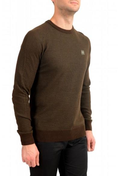 "Hugo Boss ""Amador"" Men's Linen Crewneck Pullover Sweater: Picture 2"