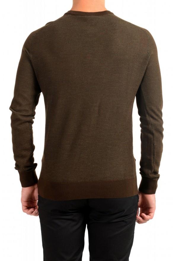 "Hugo Boss ""Amador"" Men's Linen Crewneck Pullover Sweater: Picture 3"