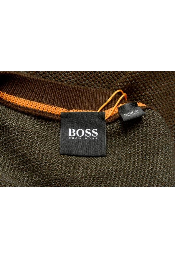 "Hugo Boss ""Amador"" Men's Linen Crewneck Pullover Sweater: Picture 6"