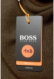 "Hugo Boss ""Amador"" Men's Linen Crewneck Pullover Sweater: Picture 7"