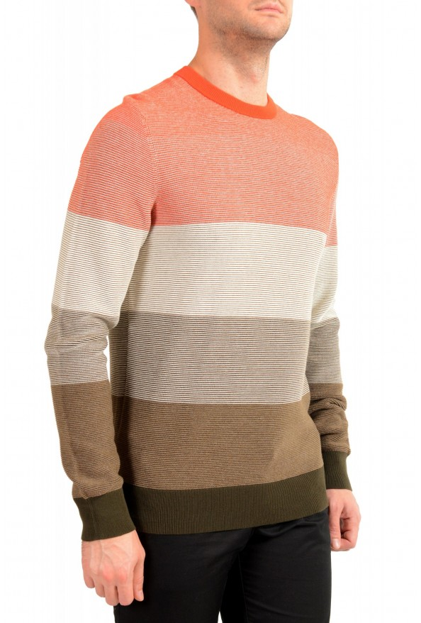 "Hugo Boss ""Kadegro"" Men's Striped Crewneck Pullover Sweater: Picture 2"