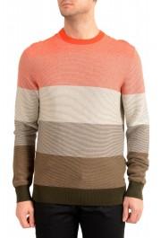 "Hugo Boss ""Kadegro"" Men's Striped Crewneck Pullover Sweater"