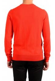 "Hugo Boss ""Pacello-L"" Men's Red V-Neck Pullover Sweater: Picture 3"