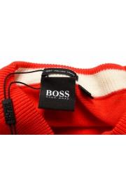 "Hugo Boss ""Pacello-L"" Men's Red V-Neck Pullover Sweater: Picture 6"