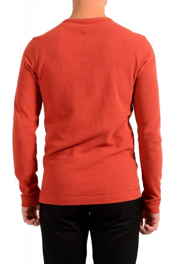 "Hugo Boss Men's ""Tempest"" Slim Fit Crewneck Long Sleeve T-Shirt: Picture 3"