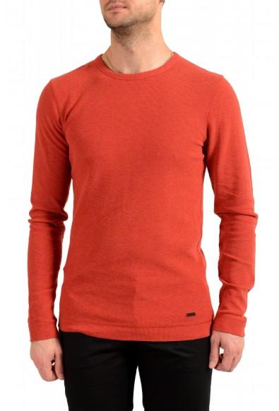"Hugo Boss Men's ""Tempest"" Slim Fit Crewneck Long Sleeve T-Shirt"