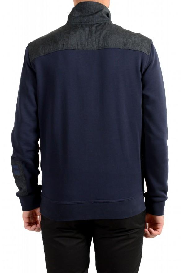 """Hugo Boss """"Zplinter"""" Men's Blue Zip UP Sweatshirt Sweater: Picture 3"""