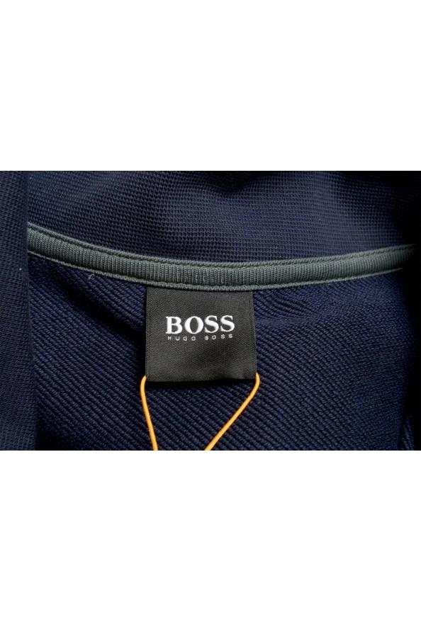 """Hugo Boss """"Zplinter"""" Men's Blue Zip UP Sweatshirt Sweater: Picture 5"""
