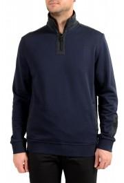 """Hugo Boss """"Zplinter"""" Men's Blue Zip UP Sweatshirt Sweater"""