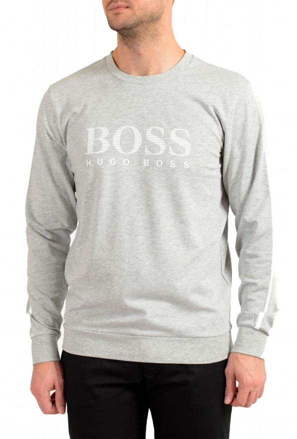 "Hugo Boss ""Authentic Sweatshirt"" Men's Logo Print Sweatshirt Sweater"