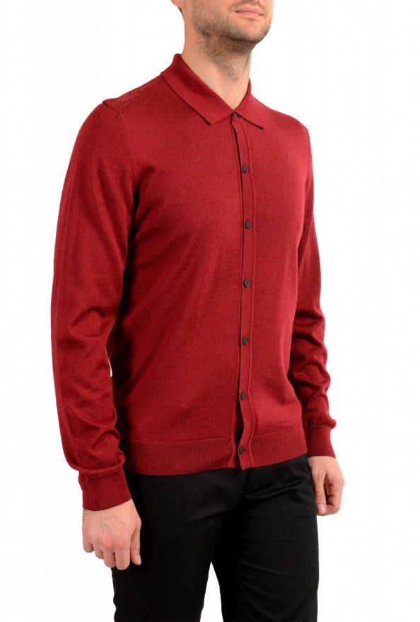 "Hugo Boss ""Dercole"" Men's Silk Wool Cardigan Pullover Sweater: Picture 2"