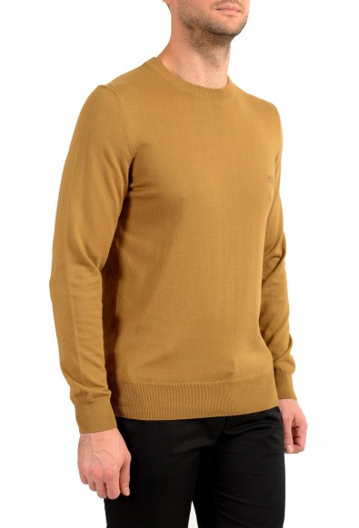 "Hugo Boss ""Pacas-L"" Men's Brown Crewneck Pullover Sweater: Picture 2"