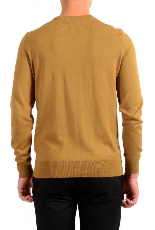"Hugo Boss ""Pacas-L"" Men's Brown Crewneck Pullover Sweater: Picture 3"