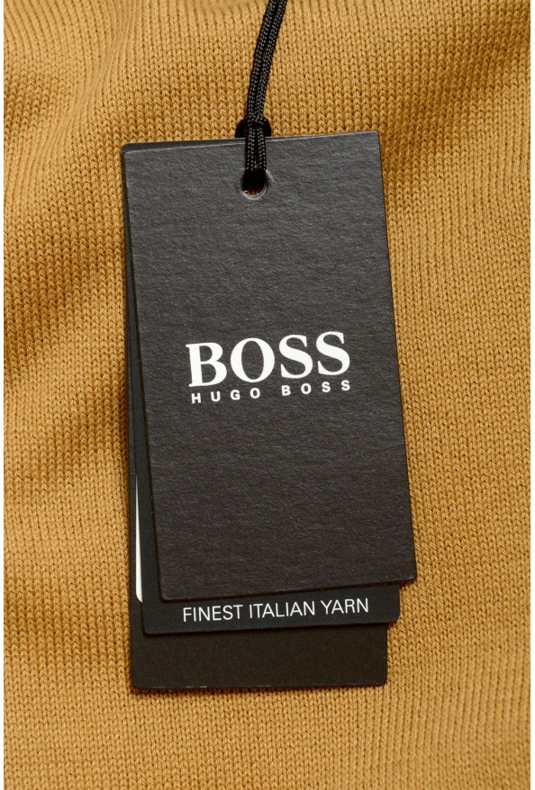 "Hugo Boss ""Pacas-L"" Men's Brown Crewneck Pullover Sweater: Picture 6"