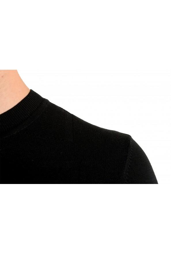 "Hugo Boss ""T-Dante"" Men's Black 100% Silk Crewneck Pullover Sweater: Picture 4"