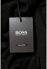 "Hugo Boss ""T-Dante"" Men's Black 100% Silk Crewneck Pullover Sweater: Picture 5"