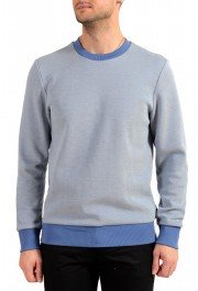 "Hugo Boss ""Stadler 53"" Men's Blue Crewneck Sweatshirt Sweater"