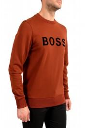 "Hugo Boss ""Stadler 50"" Men's Logo Print Sweatshirt Sweater: Picture 2"