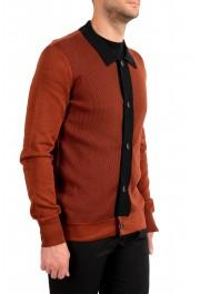 "Hugo Boss ""Pendolo"" Men's Rust Brown Cardigan Pullover Sweater: Picture 2"