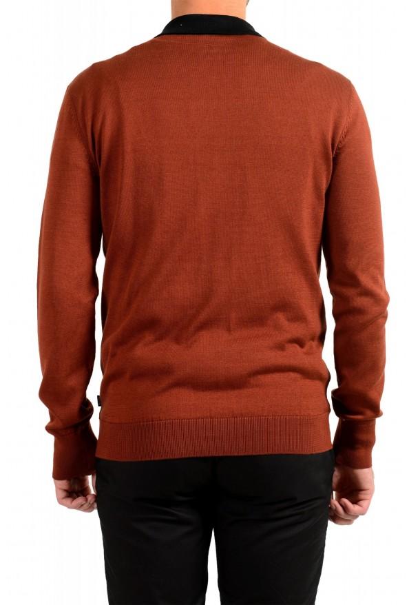 "Hugo Boss ""Pendolo"" Men's Rust Brown Cardigan Pullover Sweater: Picture 3"