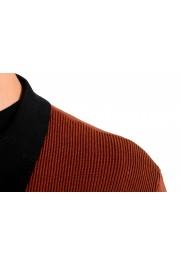 "Hugo Boss ""Pendolo"" Men's Rust Brown Cardigan Pullover Sweater: Picture 4"