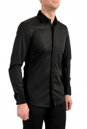 "Hugo Boss Men's ""Jalton"" Black Slim Fit Long Sleeve Dress Shirt: Picture 2"