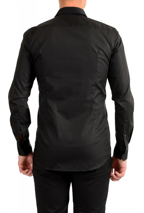 "Hugo Boss Men's ""Jalton"" Black Slim Fit Long Sleeve Dress Shirt: Picture 3"