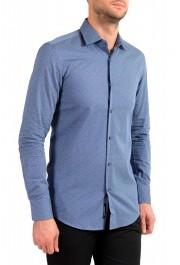 """Hugo Boss Men's """"Jenno"""" Slim Fit Geometric Print Long Sleeve Shirt: Picture 2"""