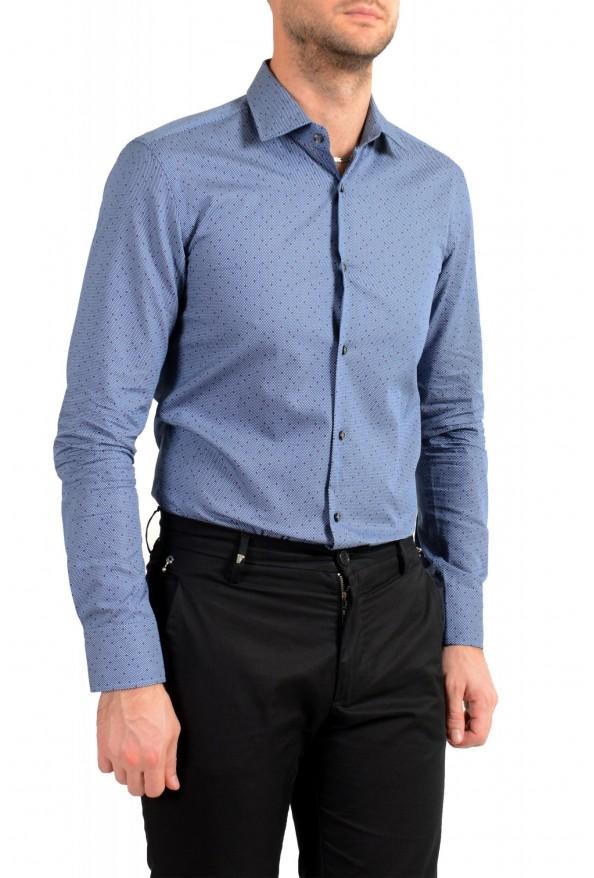 """Hugo Boss Men's """"Jenno"""" Slim Fit Geometric Print Long Sleeve Shirt: Picture 4"""