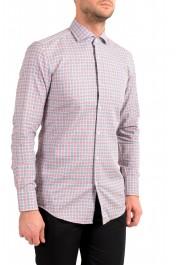 "Hugo Boss Men's ""Jason"" Slim Fit Plaid Long Sleeve Dress Shirt : Picture 2"
