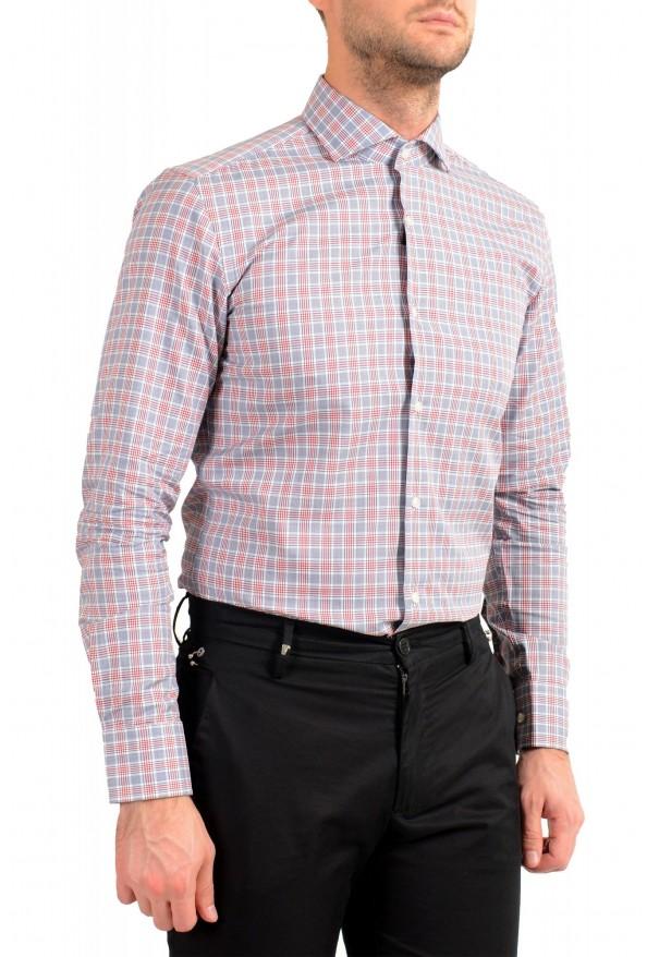 "Hugo Boss Men's ""Jason"" Slim Fit Plaid Long Sleeve Dress Shirt : Picture 4"